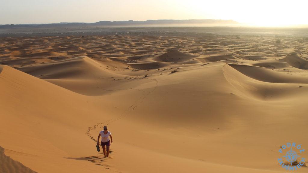 Pustynia Maroko