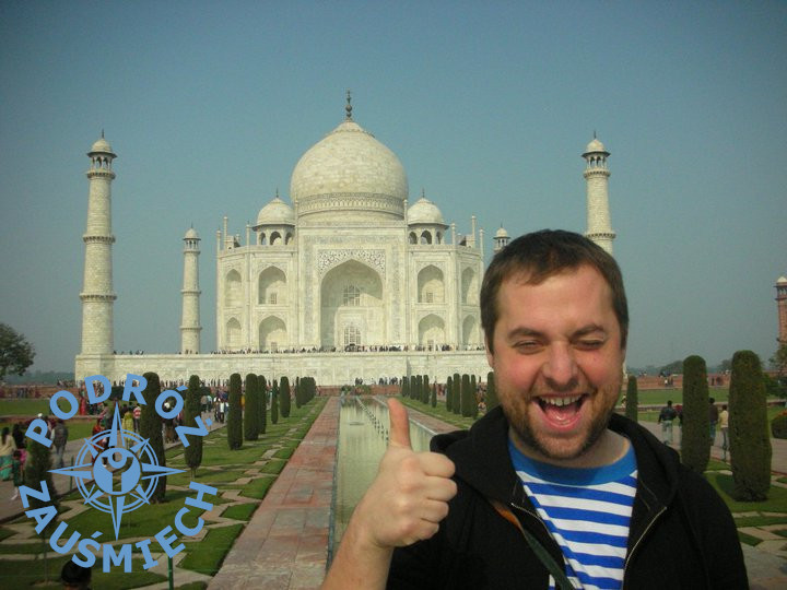 Taj Mahal z autorem
