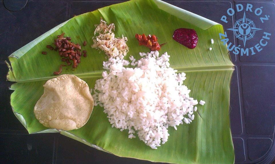 Vege jedzenie Indie