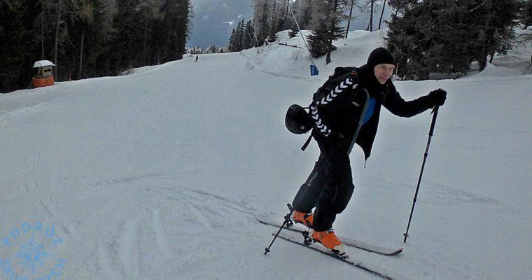 Ski tour dla początkujących – sposób na zamknięte wyciągi