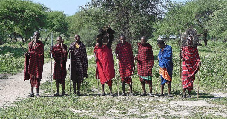 Tanzania, Park Tarangire i Masajowie